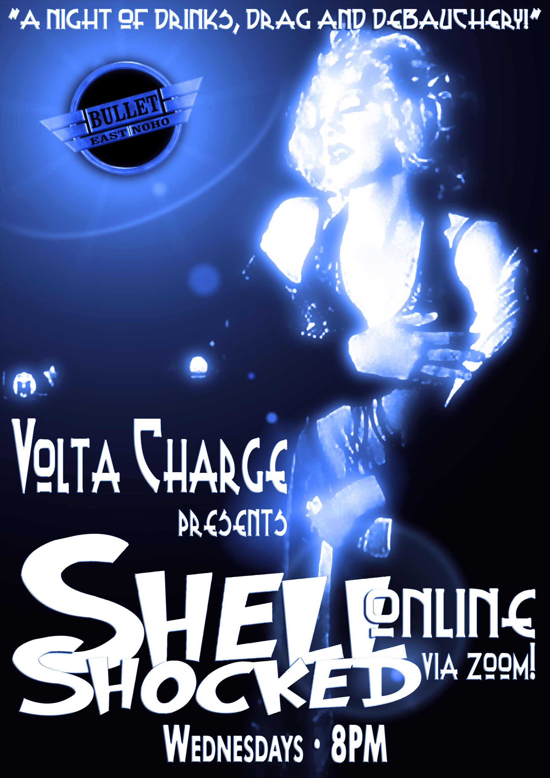 VOLTA CHARGE Presents SHELL SHOCKED ONLINE: Wednesday, August 19, 2020 at 8:00 PM via ZOOM!