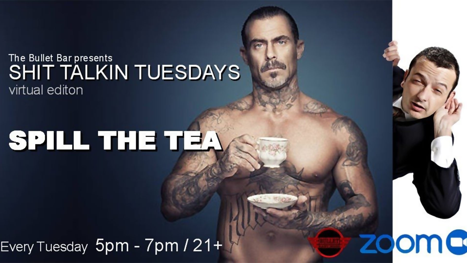 The Bullet Bar Presents SHIT TALKIN' TUESDAYS: Every Tuesday from 5-7 PM / 21+